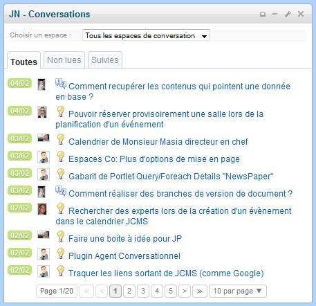 idée de question Jalios Community   JCMS 7: principal new features and associated  idée de question