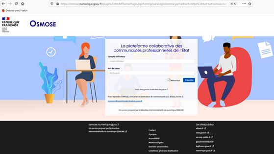 Communiqué - La direction interministérielle du numérique (DINUM) choisit Jalios pour sa plateforme collaborative Osmose